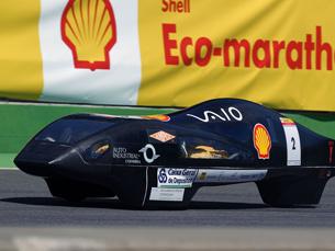 Eco veículo foi desenvolvido em Coimbra Foto: DR