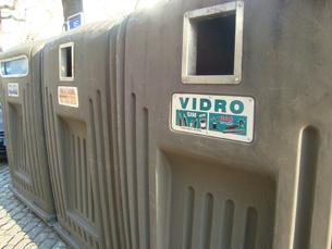 Actos de vandalismo destroem doze ecopontos na cidade do Porto Foto: Arquivo JPN