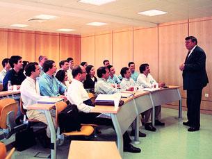 Os alunos do MBA vêm de diversas áreas profissionais Foto: EGP