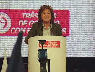 Comício do PS foi entendido como sinal de uma candidatura de Elisa Ferreira à câmara Foto: Patrícia Silva