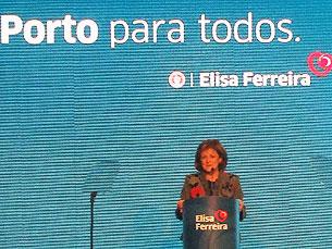 Acho que nunca perdi o norte, disse Elisa Ferreira Foto: Irene Leite
