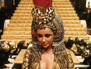 Cleópatra foi um dos papéis mais marcantes de Elizabeth Taylor Foto: DR