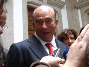 Emilio Botín, presidente do Conselho de Administração do grupo Santander, exclui OPA ao BCP Foto: Cristiana Afonso