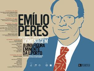 Emílio Peres deixou uma escola de pensamento e de comunicação enquanto legado Imagem: DR