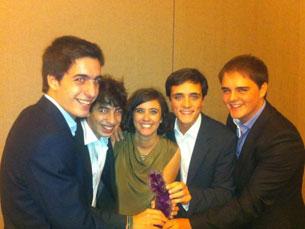 Equipa da FEP trouxe mais um prémio para a Universidade do Porto Foto: DR
