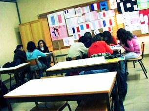 Os professores portugueses passam cada vez mais horas nas escolas Foto: João Paulo Gomes/Arquivo JPN