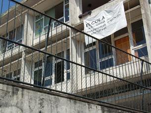 Anonymous exigem que Rui Rio ceda o espaço da Es.Col.A. aos voluntários Foto: Nélson Quintão / Arquivo JPN