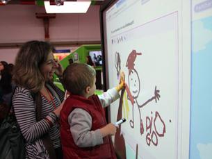 A empresa produz software educativo para os mais pequenos Foto: Tecla Colorida