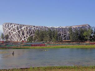 Estádio Nacional de Pequim Foto: Emmanuel Brunner