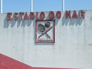 No ano passado, o Estádio do Mar já esteve em risco de ser leiloado por 3,1 milhões de euros Foto: DR