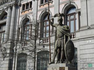 """A estátua """"O Porto"""" foi originalmente encomendada para o Antigo Paços do Concelho Fotos: Ana Rita Sousa"""