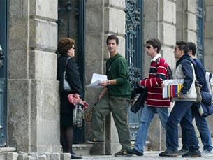 Estudantes vencedores vão participar numa conferência na Reitoria da Universidade do Porto Foto: DR