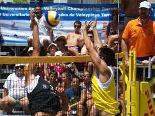 Em 2013, a UP irá receber o Europeu Universitário de Voleibol de Praia Foto: DR
