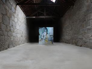 Eduardo Bragança pintou um retrato por cada local que visitou Foto: DR