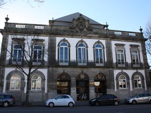 Edifício é um antigo palacete do século XIX. Foto: FBAUP