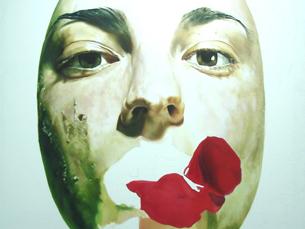 """Uma das obras da mostra """"Um projecto. Muitos projectos: uma ideia, muitas direcções"""" Foto: DR"""
