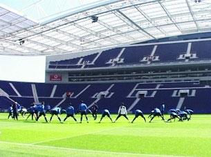 F. C. Porto é considerada a terceira melhor equipa do mundo pela FIHEF Foto: Ricardo Fortunato / Arquivo JPN