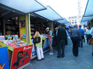 Este ano, as editoras utilizam os livros digitais para atrair mais público para a Feira do Livro de Lisboa Foto: Arquivo JPN