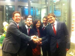 A FEP International Case Team conquistou, novamente, o primeiro lugar na final da competição Foto: DR