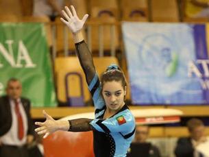 Depois de fazer história nos europeus de ginástica, a atleta traz o bronze para Portugal Foto: DR