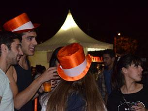 As primeiras bengaladas nos finalistas cartolados marcaram a segunda noite da Queima das Fitas Foto: Ana Bárbara Matos