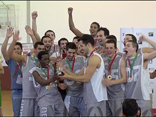 A vitória dá aos minhotos a oportunidade de disputar os Campeonatos Europeus Universitários em Roterdão Foto: Luís Martins