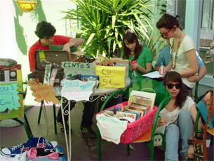 O mercado ambulante acontece todos os meses com temas diferentes Foto: Flea Market