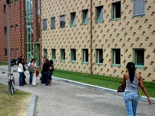Na Faculdade de Letras já há turmas de Espanhol com 130 alunos inscritos Foto: Alice Barcellos/Arquivo JPN