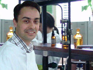 Filipe Monteiro lidera a equipa da FMUP Foto: FMUP
