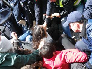 O dia de hoje ficou marcado pelos protestos e pela ação policial Fotos: Luciano Santos e Ana Catarina Medeiros