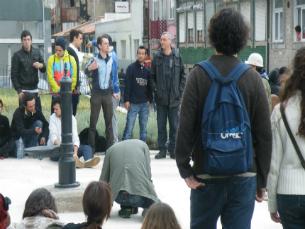 O movimento Es.Col.A conta com o apoio popular desde o início da polémica Foto: Luciano Santos