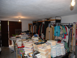18 mil voluntários ajudam a recolher e armazenar os donativos da primeira campanha anual Foto: DR