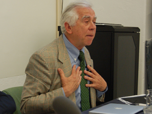 Paolo Mancini é professor da Faculdade da Ciência Política da Universidade de Perugia Foto: Rodrigo Martins