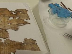 As peças futuramente restauradas são, na maioria, quadros Foto: Arquivo JPN