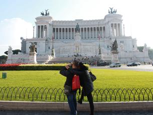 O Vittoriano foi construído para documentar toda a história política, económica e social de Itália, nos séculos XVIII, XIX e XX Foto: Tiago Leão