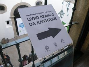 """Os seminários do """"Livro Branco da Juventude"""" terminam a 24 de abril, em Portalegre Foto: Francisca Paiva"""