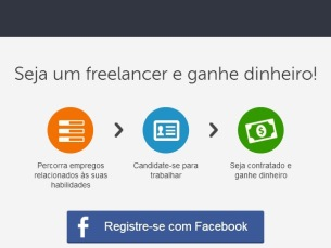 Hoje em dia há inúmeros sites com trabalho para quem quiser ser freelancer Foto: DR