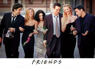 """Ross, Rachel, Monica, Chandler, Phoebe e Joey são os protagonistas de """"Friends"""", uma série que perdura no tempo Foto: DR"""