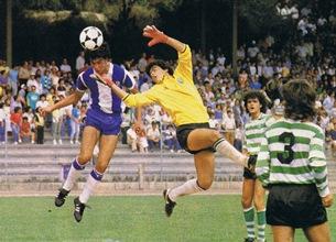 José Luís enquanto jogador do FC Porto, período em que marcou 12 golos em dois jogos Foto: DR