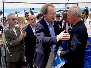 Menezes será presidente do Eixo Atlântico até 2009 Foto: Arquivo JPN