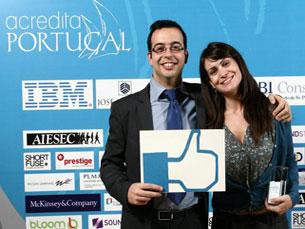"O projeto ""Ginásio Mental"" foi finalista do concurso Acredita Portugal Foto: DR"