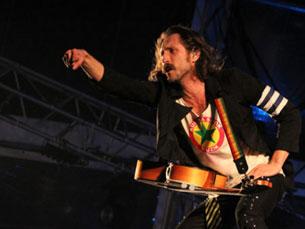 """No fim do noite da Queima das Fitas em que houve Gogol Bordello, a opinião era consensual: """"Grande concerto!"""". Foto: Tiago Leão"""
