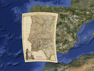 David Rumsey digitalizou 120 dos seus 170 mil documentos históricos e Portugal é um deles Foto: DR