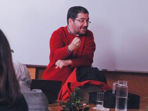 António Granado discutiu o papel dos jornalistas na divulgação da Ciência, esta quinta feira, na ESB
