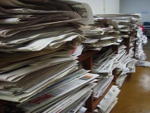 """O""""Diário de Notícias"""" foi o único a contrariar a quebra nas vendas da imprensa generalista Foto: Arquivo JPN"""