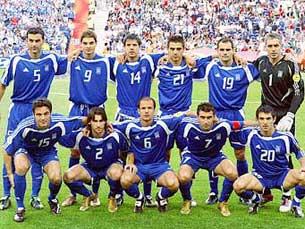 A Grécia procura defender o título europeu conquistado em 2004 Foto: DR