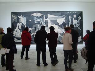 """O quadro é a """"alma do museu"""". Recebe um milhão de visitas anuais. Foto: Nuno de Noronha"""