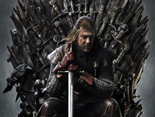 """A série televisiva """"Game of Thrones"""" popularizou, ainda mais, a obra do escritor norte"""