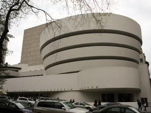 Museu Guggenheim em Nova Iorque projetado por Frank Lloyd Wright Foto: