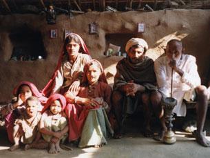 Enquanto vivia com a tribo gurjar, João Pedro Galhano Alves chegou a cruzar